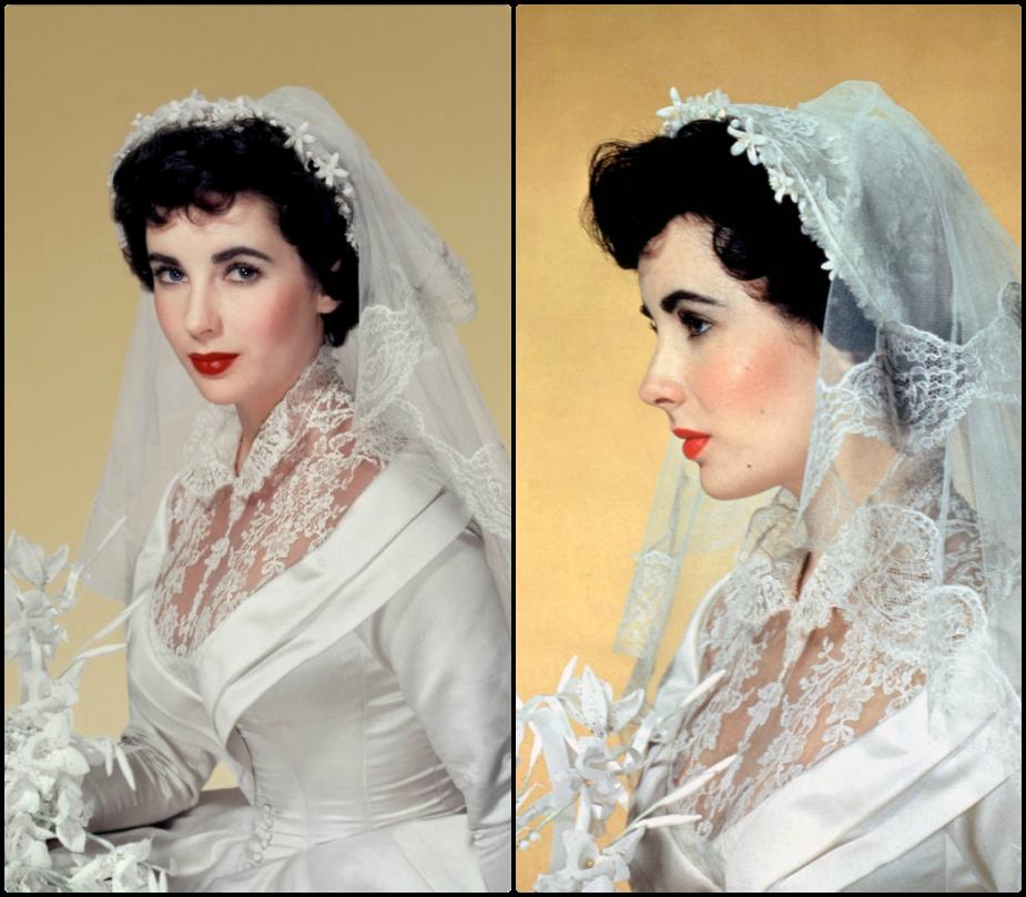 Elizabeth Taylor closeup