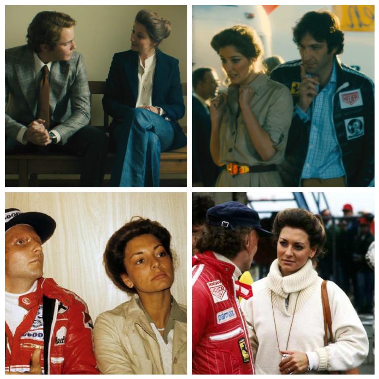 Кадры из фильма, Марлен и Ники Лауда