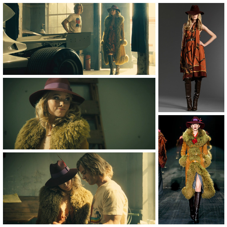 Gucci pre-fall 2011 и fall 2011, кадры из фильма