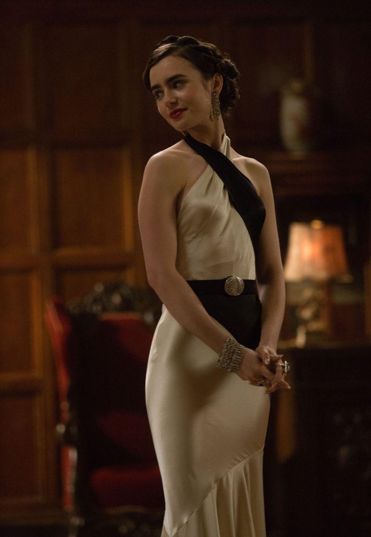 Image for В сериале «Последний магнат» Селия Брэди (Лилли Коллинз) одета в платье в стиле: