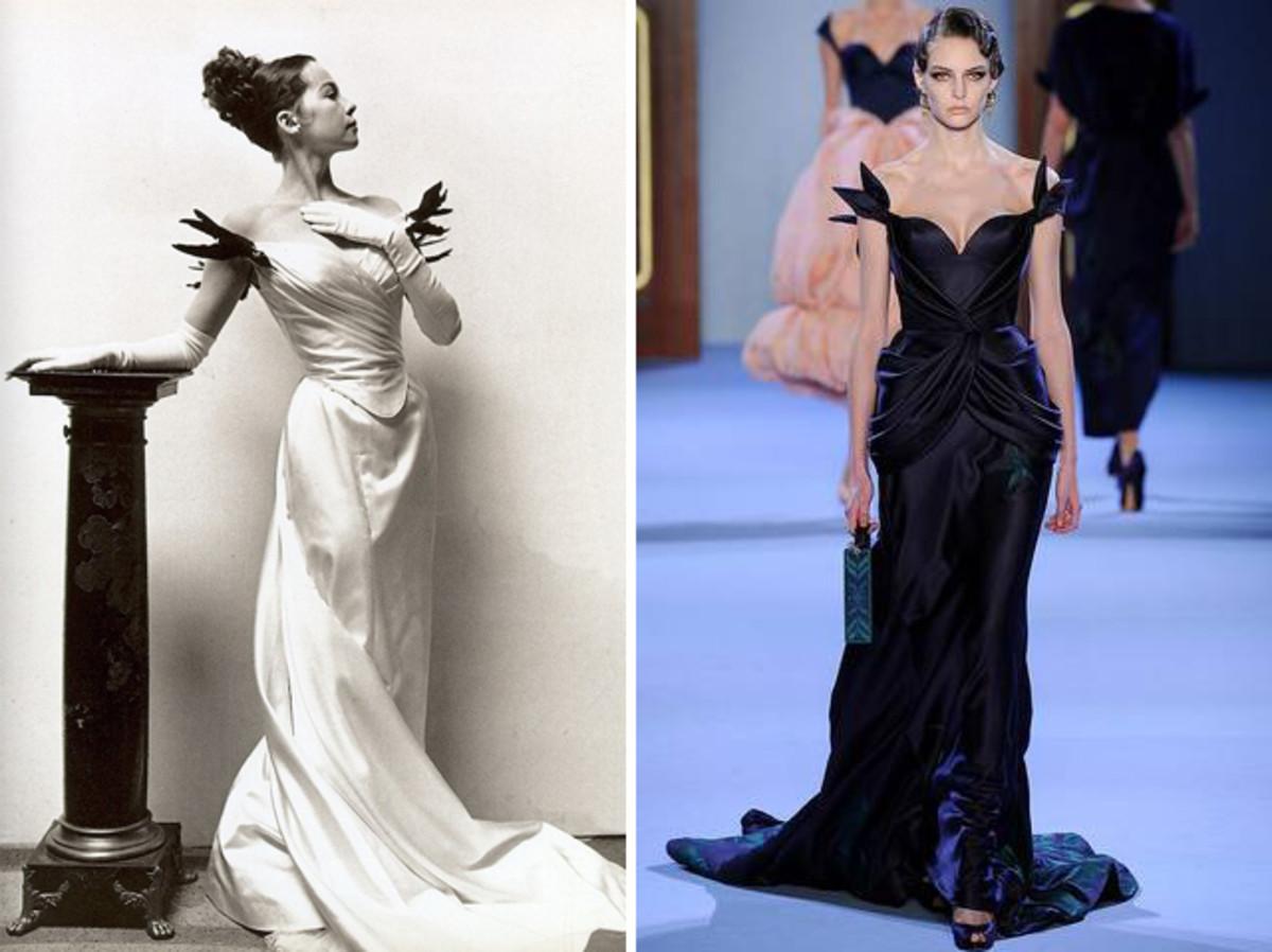 Image for Какого российского дизайнера вдохновил наряд Лесли Карон из фильма «Жижи» (1958 г., художник по костюмам Сесил Битон)?